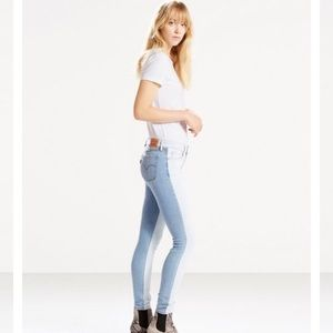 711 Levi's Two Tone Skinny Jeans